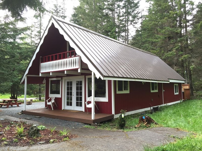 Mt. Rainier Family Get Away with Hot Tub, holiday rental in Elbe