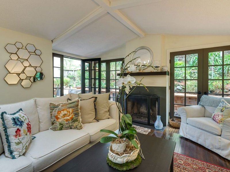 Magical  Downtown Mill Valley Walk to Everything, holiday rental in Marin County