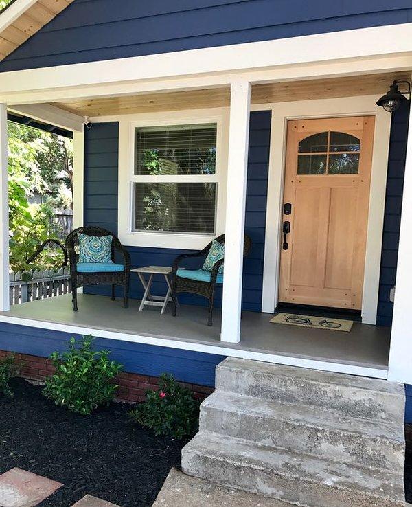 Rencontrez les voisins du porche.