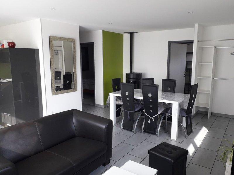 Maison moderne à 2 pas du bourg et des plages, location de vacances à Sainte-Hélène