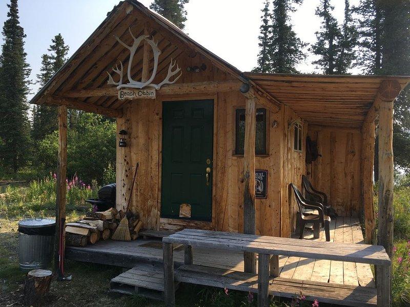 Adventure Denali / Fish Denali Beach Cabin, location de vacances à Parc national et réserve de Denali
