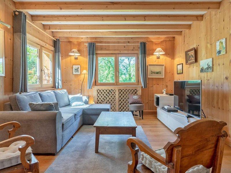 Chalet familial St-gervais centre 10 personnes Meublé tourisme classé 3*, location de vacances à Saint-Gervais-les-Bains