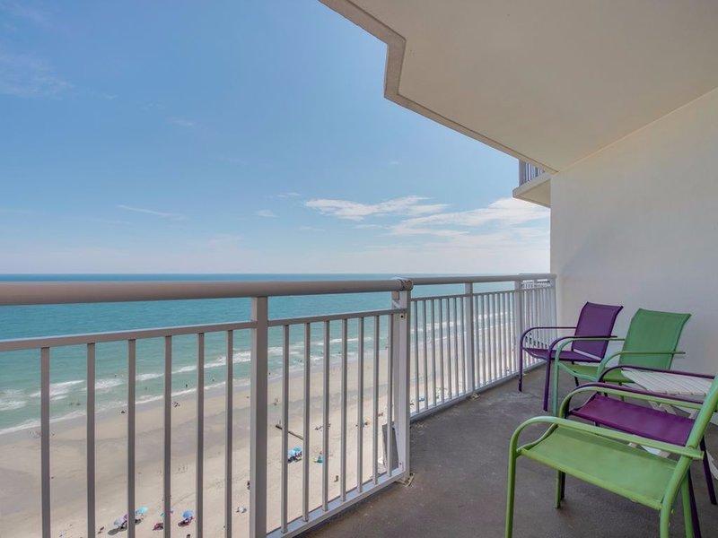 Balcón frente al mar para disfrutar de su café de la mañana o una copa de vino por la noche