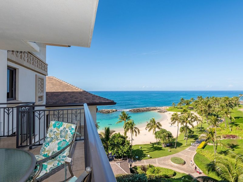 LAST MIN BOOKING SPECIAL!Amazing Oceanview 2 Bdrm Villa at Ko Olina Beach Villas, location de vacances à Kapolei