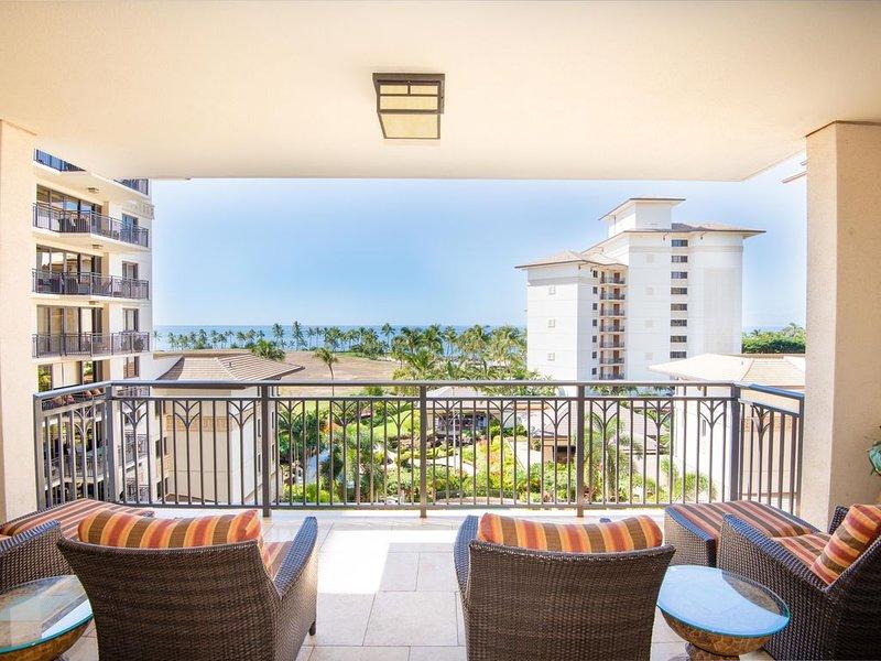 Beautiful Oceanview 2 Bedroom Villa at Ko Olina Beach Villa, vacation rental in Kapolei
