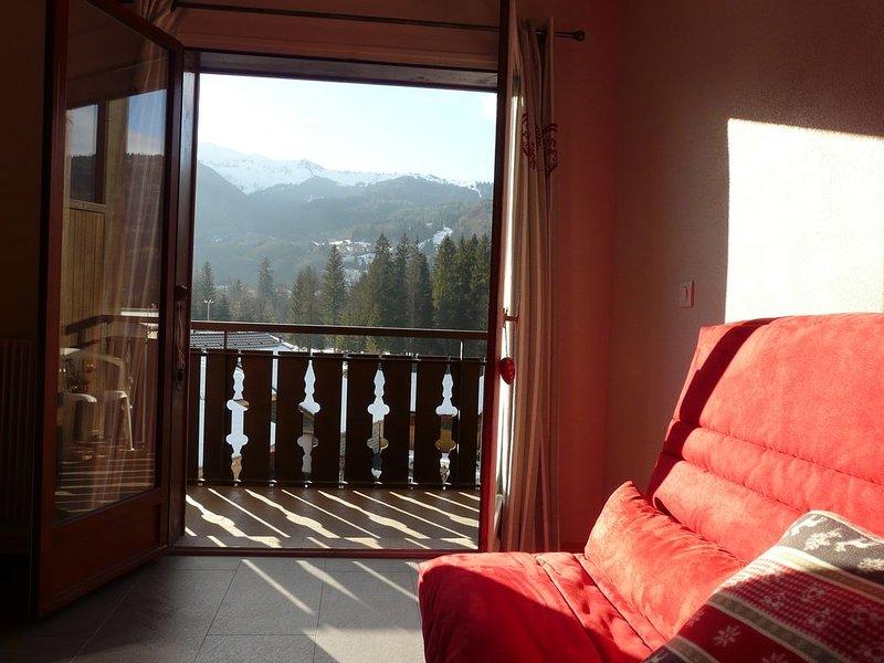 LOUE  BEL APPARTEMENT  4/5  PERSONNES, holiday rental in Verchaix