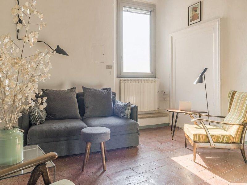 Loft con vista sulla città e paesaggio, holiday rental in Urbino
