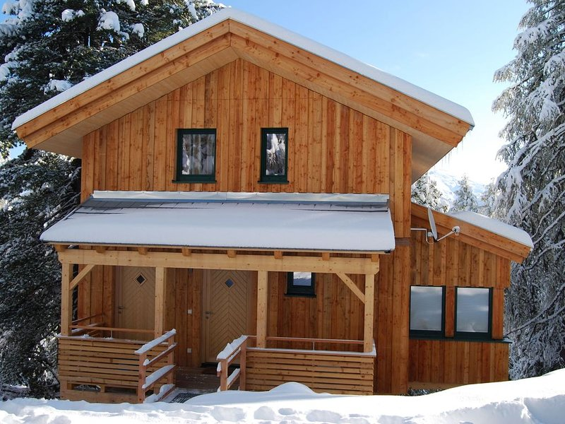 Detached design chalet with in-house spa on the Turracher Höhe., Ferienwohnung in Turracher Höhe