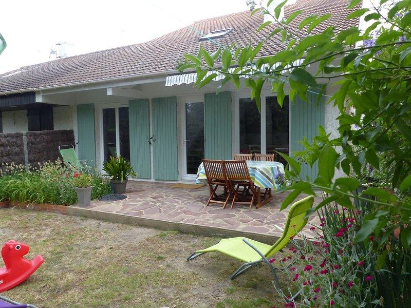 Maison au calme - 2 à 7Personnes - 400 M Mer- 1km Plage Tanchet, alquiler de vacaciones en Les Sables-d'Olonne