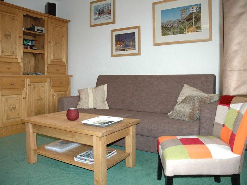 Appt 5/6 pers au 9e étage résidence Les Fontaines Blanches, location de vacances à Morzine