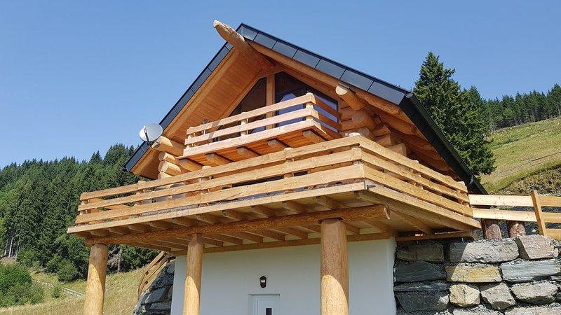 Ein Chalet im kanadischen Baustil., casa vacanza a Agsdorf