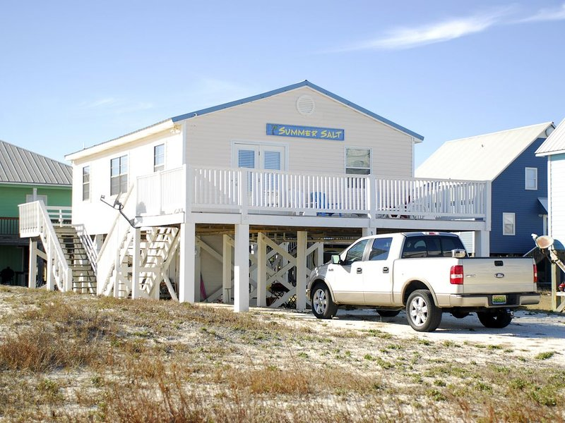 Beach Lovers! - Beautiful House, Spectacular Views, Super Location!!, alquiler de vacaciones en Fort Morgan