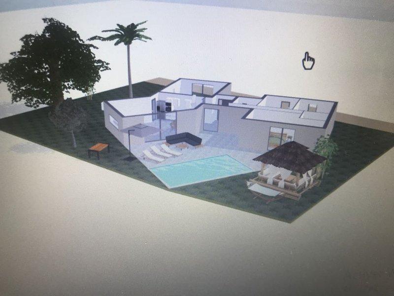 Villa Rossa, Contemporaine Petit coin de Paradis  à 2 minutes des plages !, holiday rental in Urtaca