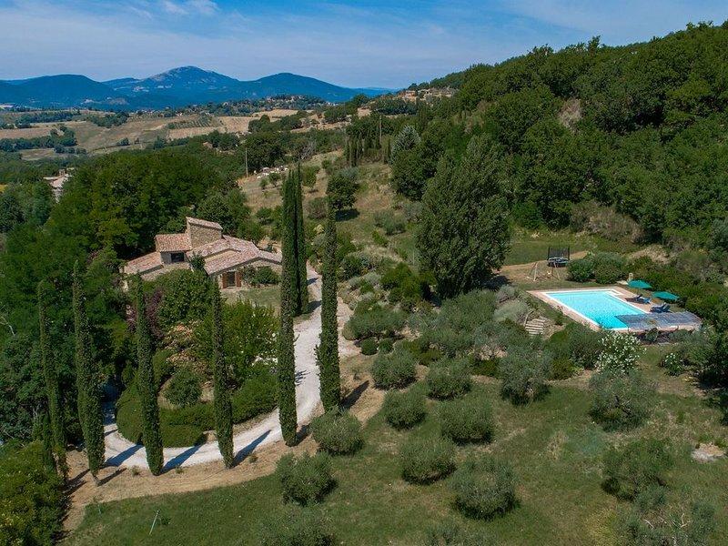 Morleschio, Perugia, Perugia in Umbria, holiday rental in Piccione