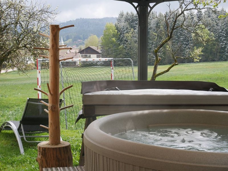 chalet neuf 145m2 wellness SPA SAUNA bar HAMMAM privé, vacation rental in Xonrupt-Longemer