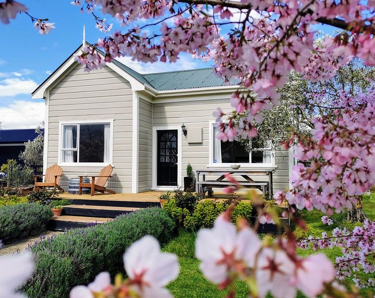 Olive Tree Cottage, Martinborough, Ferienwohnung in Greytown