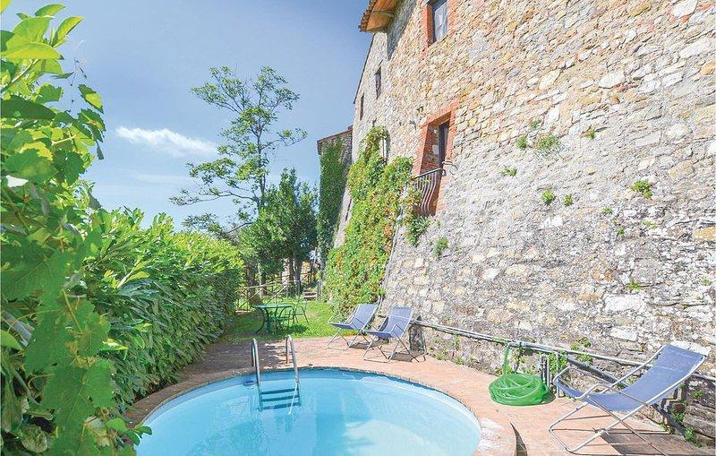 2 Zimmer Unterkunft in Piegaro (PG), holiday rental in Montegiove
