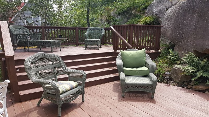 Relax Outdoors In This Updated Village Home... Walking Distance to Downtown, holiday rental in Grenell