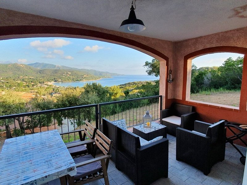 Appartement GINA - 3***- Vue mer - Favone, vacation rental in Conca