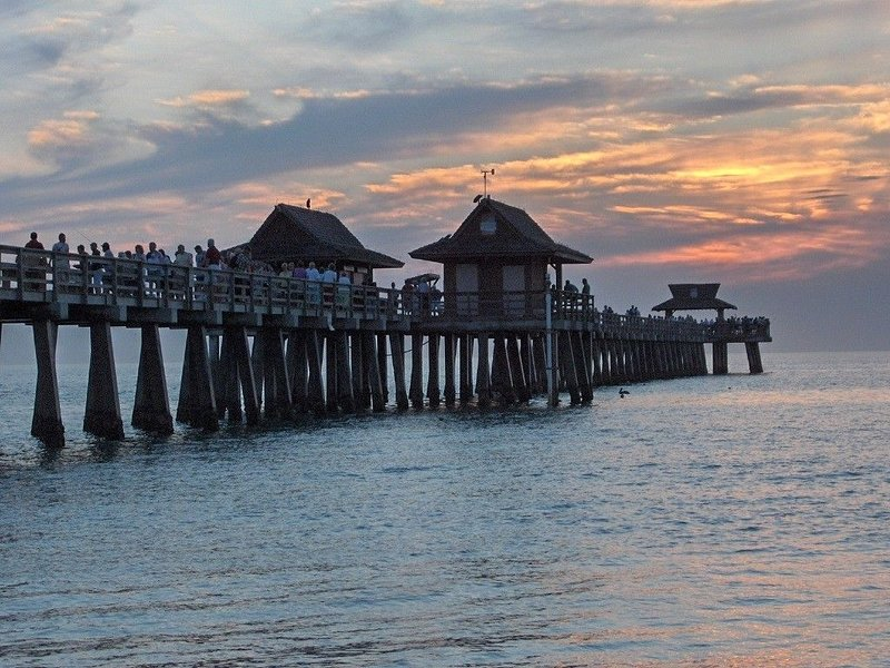 Sunset at the Naples Pier- see: www. ******************