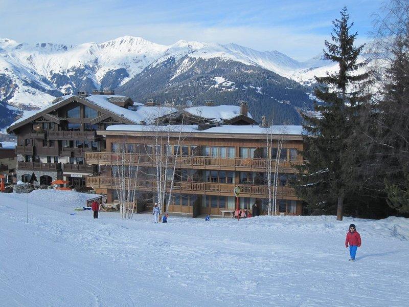 Situation exceptionnelle, skis aux pieds, à consommer sans modération !, location de vacances à Courchevel