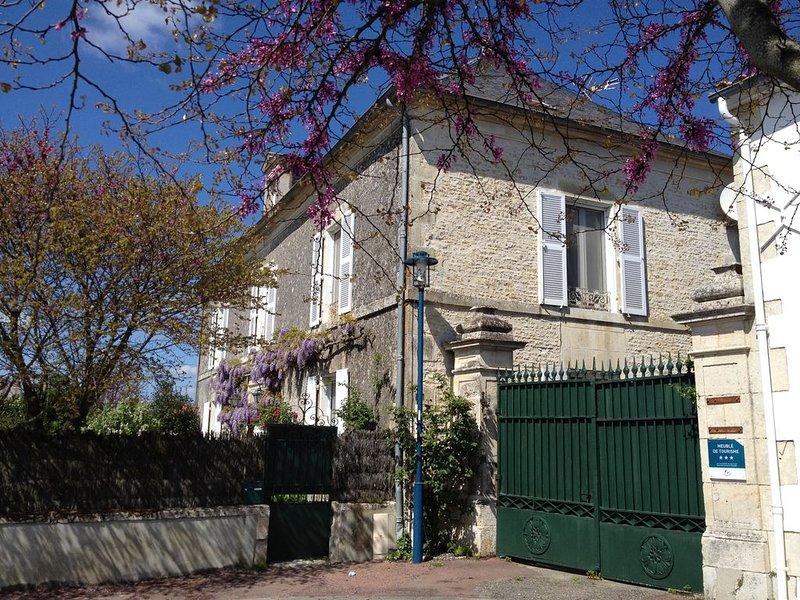 Très belle maison  avec  piscine - Sud Vendée - jusqu'à 14 personnes, holiday rental in Chaille-les-Marais