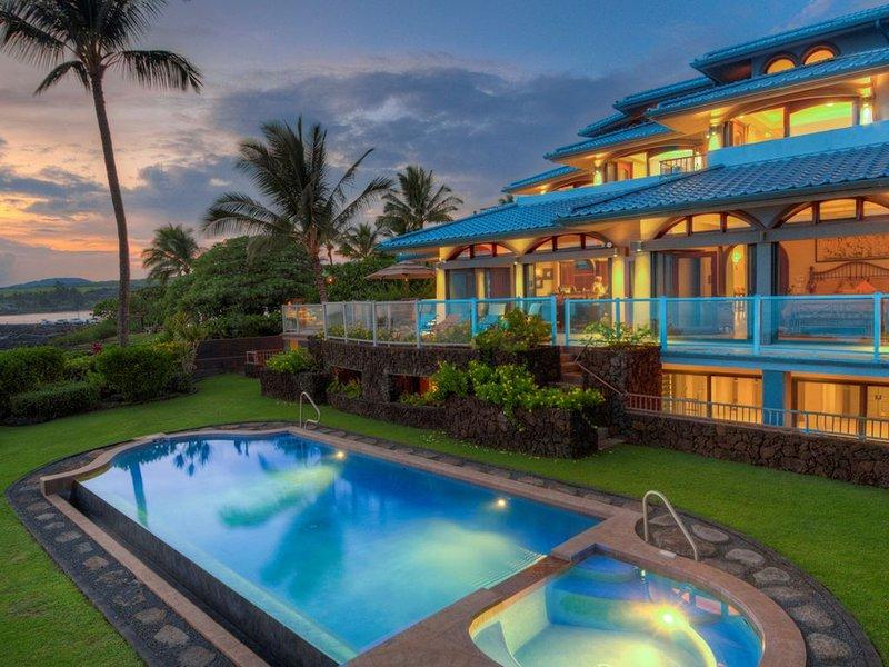 Paradisio Ho'o Kumu - Stunning Oceanfront with Pool and A/C!, location de vacances à Kekaha
