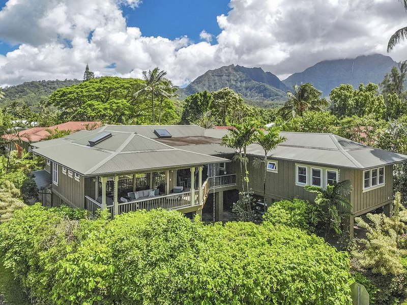 Hanalei Bay House - prime Hanalei location! TVNC-5099, vacation rental in Wainiha