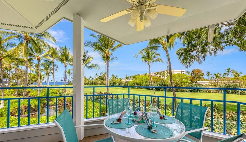 Aloha Condos, Mauna Loa Village, Condo 11-70, Golf Course, AC, holiday rental in Honalo