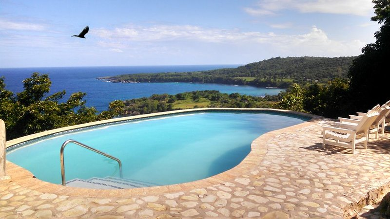 BEST View in Jamaica, Pool, Hot Water, LOW Price, holiday rental in Long Bay