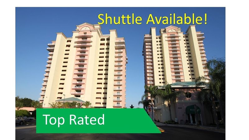 NEAR Disney, OUTSTANDING Views,  TWO Private Balconies! Shuttle Available, holiday rental in Celebration