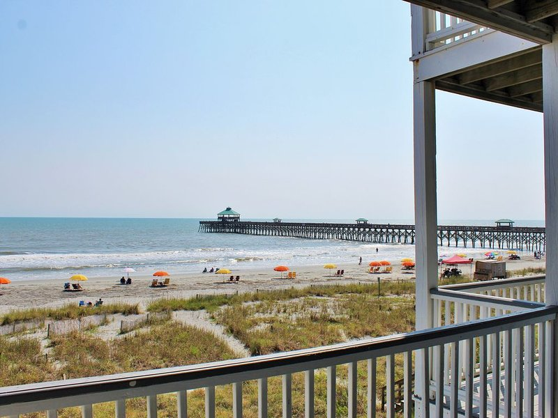 Sea 2, Amazing Views Inside and Out. Ocean Front Luxury, holiday rental in Folly Beach