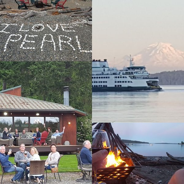 Pearl's Beach House - Point White/Lynwood, No-Bank waterfront, Mt. Rainier View, location de vacances à Bainbridge Island