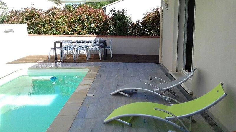 Villa Sorède avec piscine – semesterbostad i Sorede