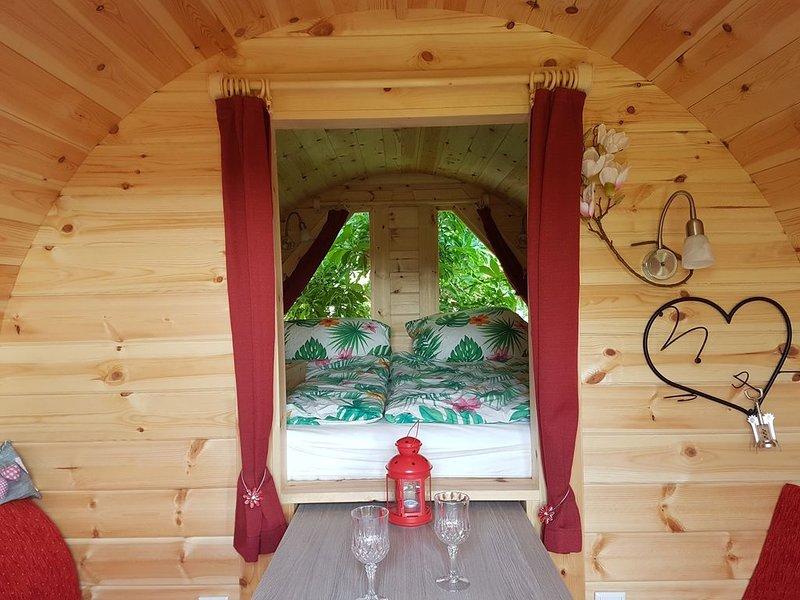 Campingfass 'Magnolia' zwischen Stadt, Seen und Bergen, location de vacances à Feldkirchen-Westerham