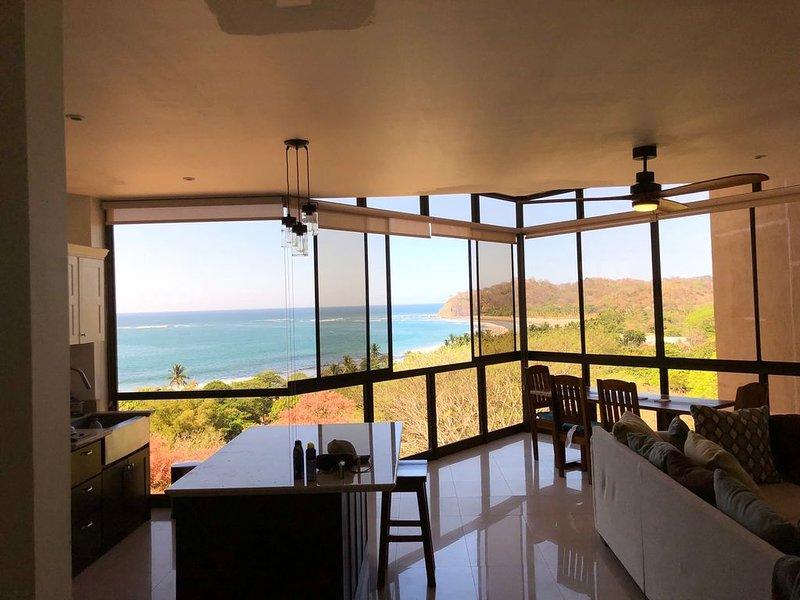 Awesome Ocean & Beach Views of Beautiful Samara, Costa Rica - WALK TO BEACH!!, alquiler de vacaciones en Playa Samara