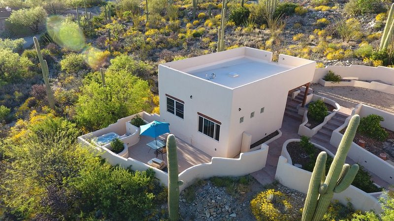 Amazing City And Mountain Views From The Foothills Of The Catalinas, holiday rental in Mount Lemmon