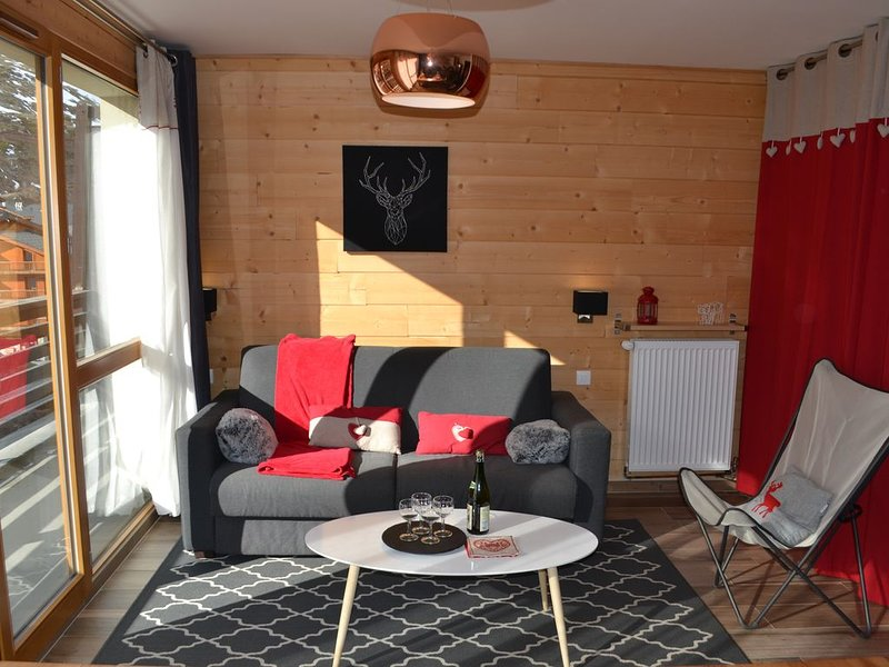 Le Génépiste, Tignes Le Lac, Apartment 3* totally renovated, 3 rooms, 50m2, holiday rental in Tignes