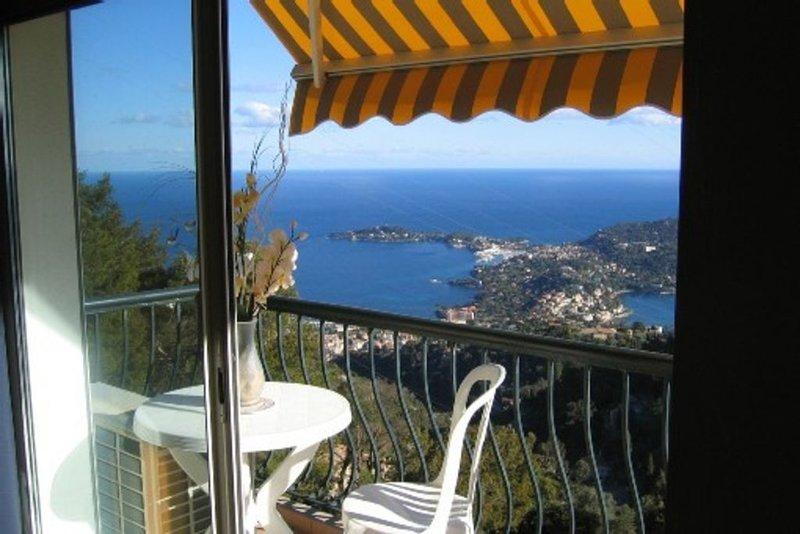 Appartement très confortable climatisé mer & montagne  15 minutes des plages, holiday rental in Villefranche-sur-Mer