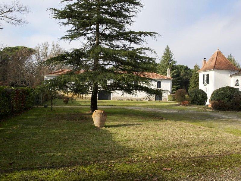 Maison dans grand parc privé, holiday rental in Saint-Paul-en-Born
