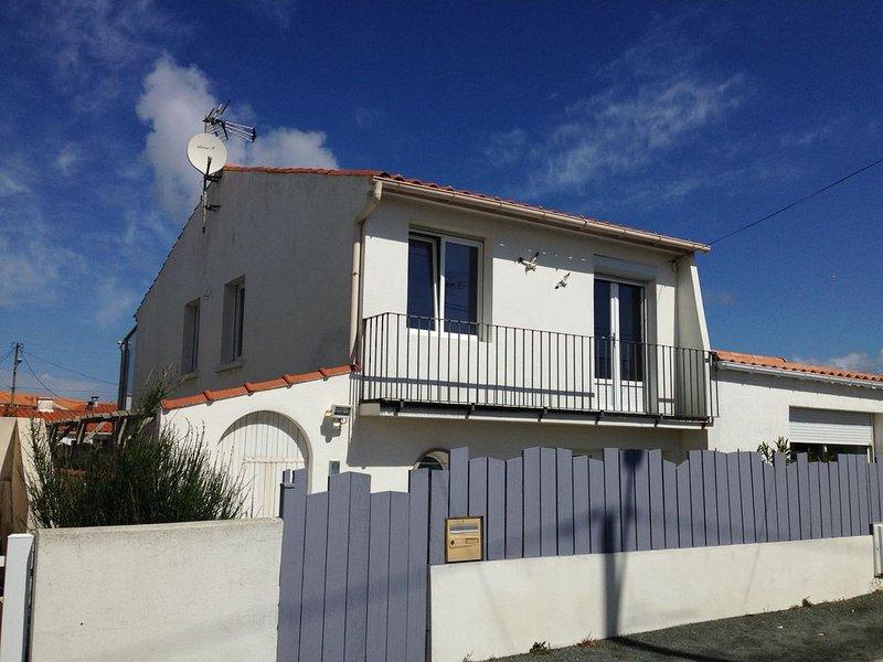 Maison sur la corniche vendéenne, à 60 m de l'océan, Saint-Hilaire-de-Riez, location de vacances à Vendée