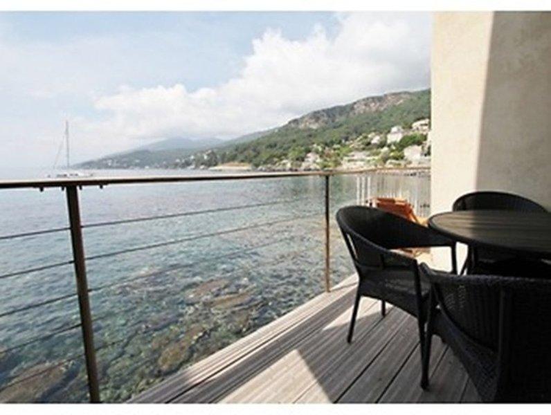 Un balcon sur la mer, holiday rental in Erbalunga