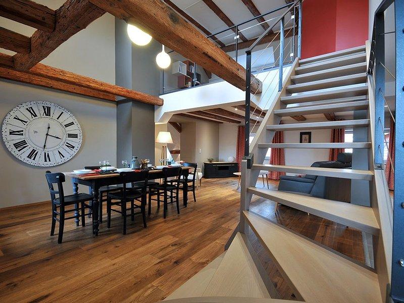 La Demeure de Gérardine, Piscine et Sauna au pied du vignoble,  wifi gratuit, vacation rental in Soultzmatt