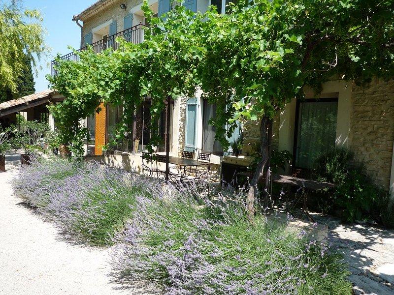 Ferme en Provence mas de charme 6 chambres 6 salle bain 5 wc entièrement privé, holiday rental in Lagnes
