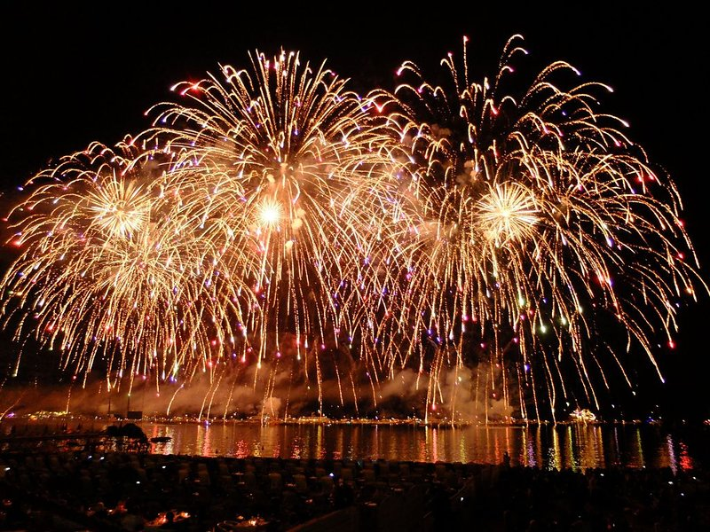 Pyrotechnic Festival from July 14th to August 24th