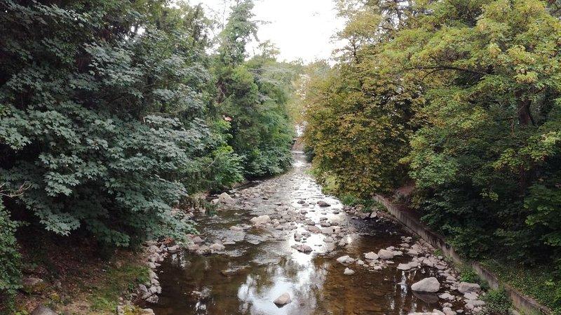 bord de la Deume voie fluvia