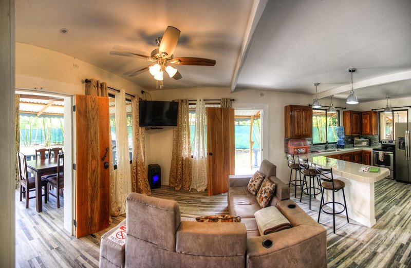 Living Room / Kitchen Downstairs