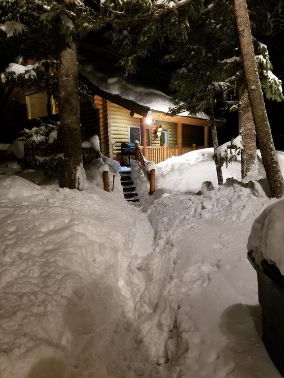 Je sais que l'été arrive, mais nous avons eu une grosse neige fin février et début mars!