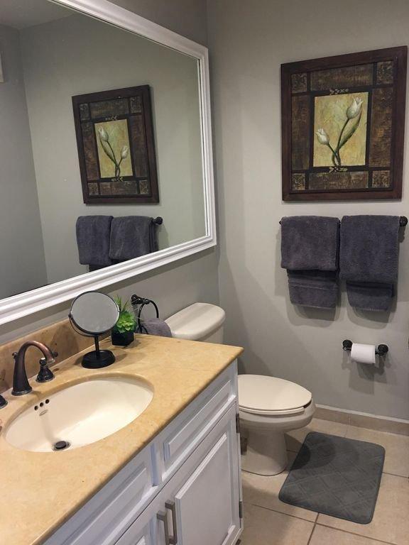Updated bathrooms.