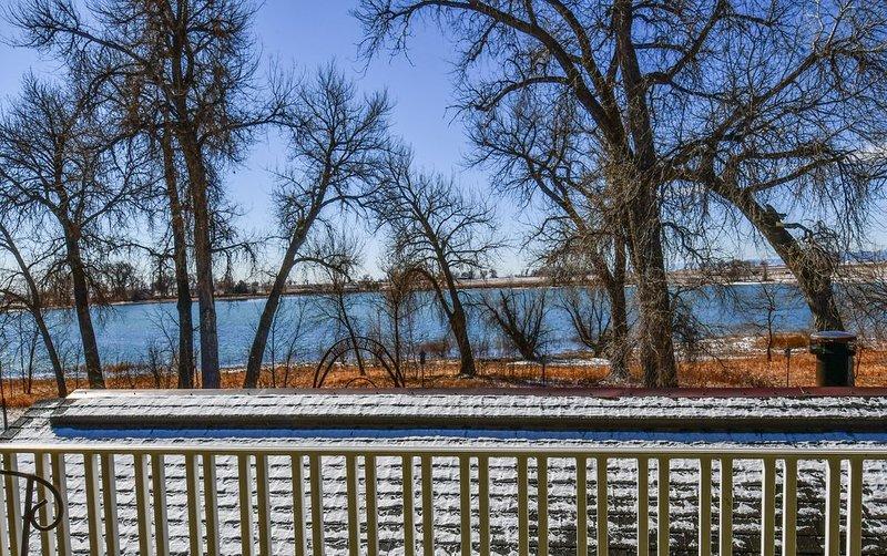 Vista para o lago pacífica
